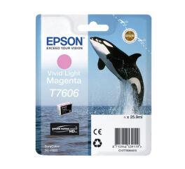 Cartouche EPSON C13T76064010 T7606 - Magenta