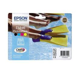 Cartouche EPSON C13T58464010 - Noir + 3 couleurs