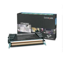 Toner LEXMARK C734A1KG C734,  X734 - Noir