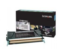 Toner LEXMARK X746H1KG X746, X748 - Noir
