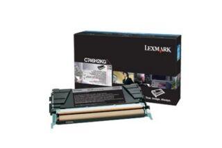 Toner LEXMARK C746H3KG C746,C748 - Noir