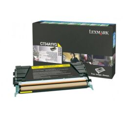 Toner LEXMARK C734A1YG C734,  X734 - Yellow
