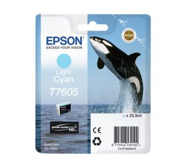 Cartouche EPSON C13T76054010 T7605 - Cyan