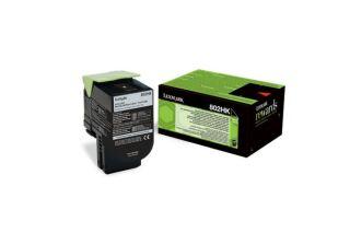 Toner LEXMARK 80C2HKE 802HK - Noir