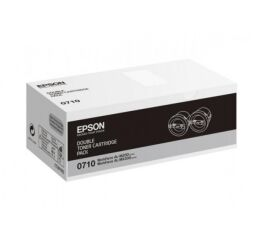 Pack de 2 toner EPSON C13S050710 AL-M200/MX200 - Noir