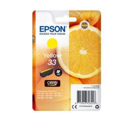 Cartouche EPSON C13T33444012 - Yellow