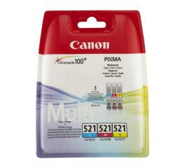 Cartouche CANON 2934B010 CLI-521 - 3 couleurs