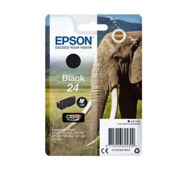 Cartouche EPSON C13T24214012 24 - Noir