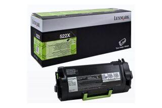 Toner LEXMARK 52D2X0E 522XE - Noir