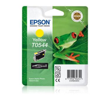 Cartouche EPSON C13T05444010 Sér. GRENOUILLE- Jaune pigmenté