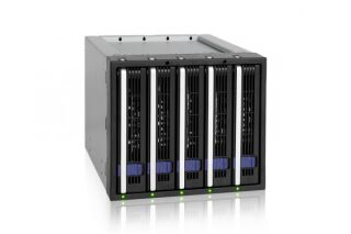 "ICY DOCK Backplane MB155SP-B 5 disques SATA 3""5"
