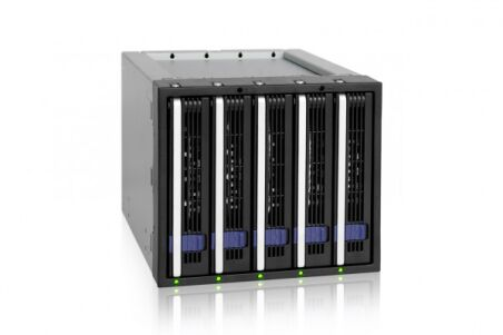 """ICY DOCK Backplane MB155SP-B 5 disques SATA 3""""5"""