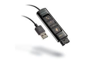 PLANTRONICS DA80 Cordon USB a télécommande pour casque EncorePro