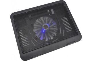 """Refroidisseur ventilé pour PC portable 11""""-15.4""""+2 ports USB"""