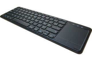 Clavier avec touchpad sans fil noir