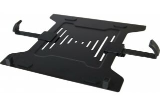 "SUPPORT NOTEBOOK AJUSTABLE 10""-16"" POUR BRAS LCD VESA 75/100"