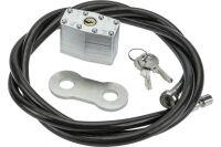 Securityxtra Câble antivol ProLock 8mm à cadenas renforcé -