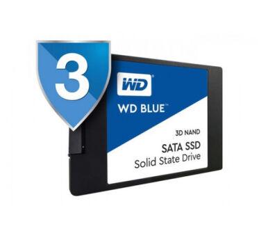 DISQUE SSD WD 3D NAND SSD Blue 2.5'' SATA III - 500Go