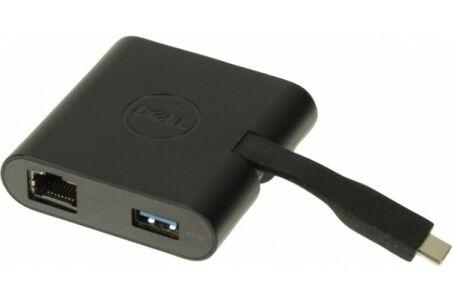 Dell DA200 adaptateur USB Type C - HDMI ou VGA LAN USB 3.0