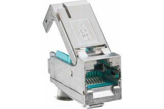 LEONI MegaLine Connect45 embase noyau coudé RJ45 CAT6A STP ISO