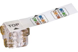 LEONI KERPEN MegaLine Connect45 cable plug multibrin (lot de 25)