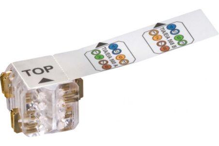 LEONI MegaLine Connect45 cable plug multibrin (lot de 25)