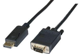 Cordon DisplayPort  1.1 vers VGA - 2m