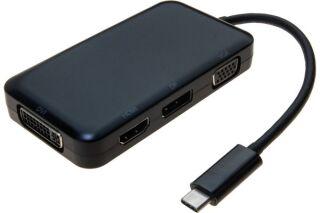 Convertisseur multiports USB Type-C vers VGA - DVI - HDMI - DisplayPort