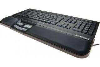 Souris centrale Barmouse USB noire