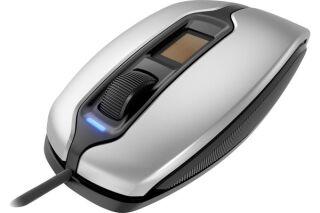 CHERRY Souris avec lecteur d'empreintes MC 4900 USB argent