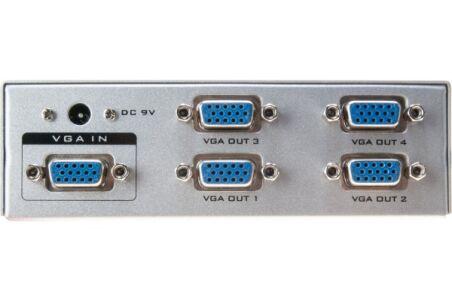Splitter video 4 voies 500MHz