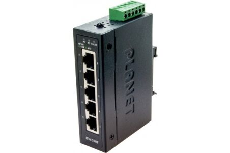 Planet ISW-500T switch indust. 5P 10/100 compact -40/+75°