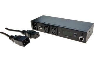 Mini PDU IP 16A 2 sorties C13 mesure & contrôles à distance
