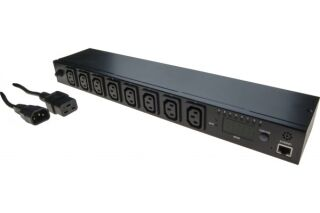 multiprise PDU IP mesure & contrôle à distance 8 ports C13