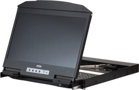 "ATEN CL3800NW CONSOLE LCD 18,5"" DOUBLE RAIL HDMI-DVI-VGA/USB"