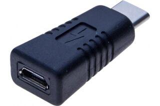 Adaptateur USB 2.0 micro B femelle / Type-C mâle