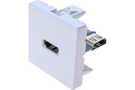 Plastron 45x45 HDMI coudé