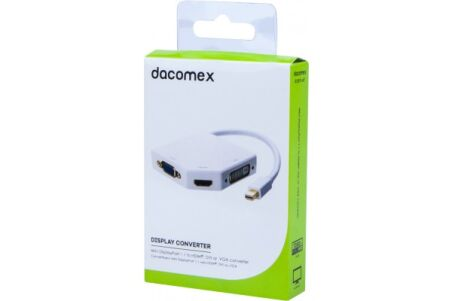DACOMEX Convertisseur Mini DisplayPort 1.1 vers HDMI, DVI ou