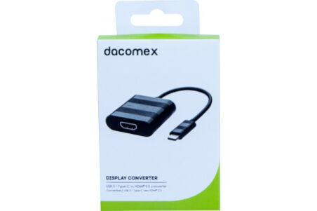 DACOMEX Convertisseur USB 3.1 Type-C vers HDMI 2.0