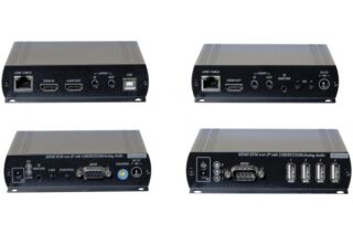KIT PROLONGATEUR KVM HDMI 1080P / USB / RS232 SUR IP
