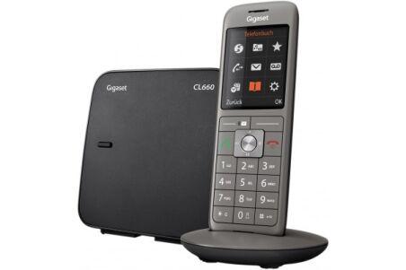 Gigaset CL660 Téléphone sans fil DECT - base + combiné