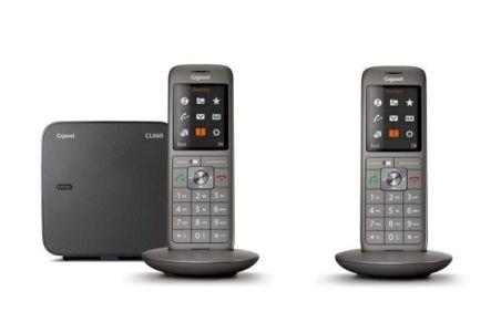 Gigaset CL660 DUO Tél. sans fil DECT - base + 2 combinés
