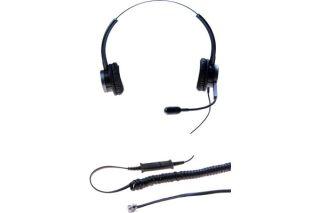 DACOMEX Perle - casque téléphone binaural micro Flex antibru