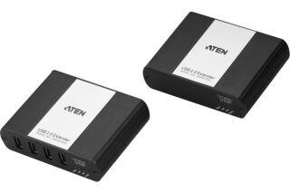 ATEN UEH4102 Extendeur USB 2.0 sur IP Hub métal 4 ports