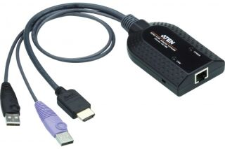 ATEN KA7188 MODULE KVM CAT5 HDMI+USB+CARTE PUCE V.MEDIA