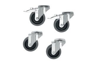 VOGEL'S Set roulettes PFA 9114 pour PFT 85** - charges lourd