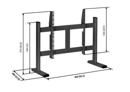VOGEL'S Support de table PB 050 pour écrans 36-50''