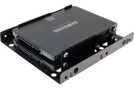 Adaptateur 2 x HDD/SSD 2.5'' en Baie 3.5''