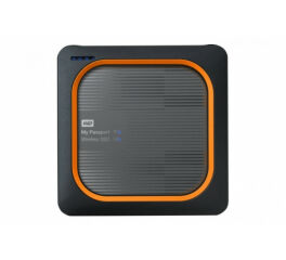 WD SSD externe My Passport Wireless USB 3.0 1 To noir & oran