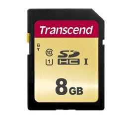 TRANSCEND Carte SDHC UHS I 500S Class 10 8 Go